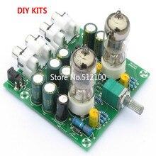 Лихорадка 6J1 трубка предусилитель Pre-amp трубка amp 6J1 клапан предусилитель ламповый буфер diy комплекты