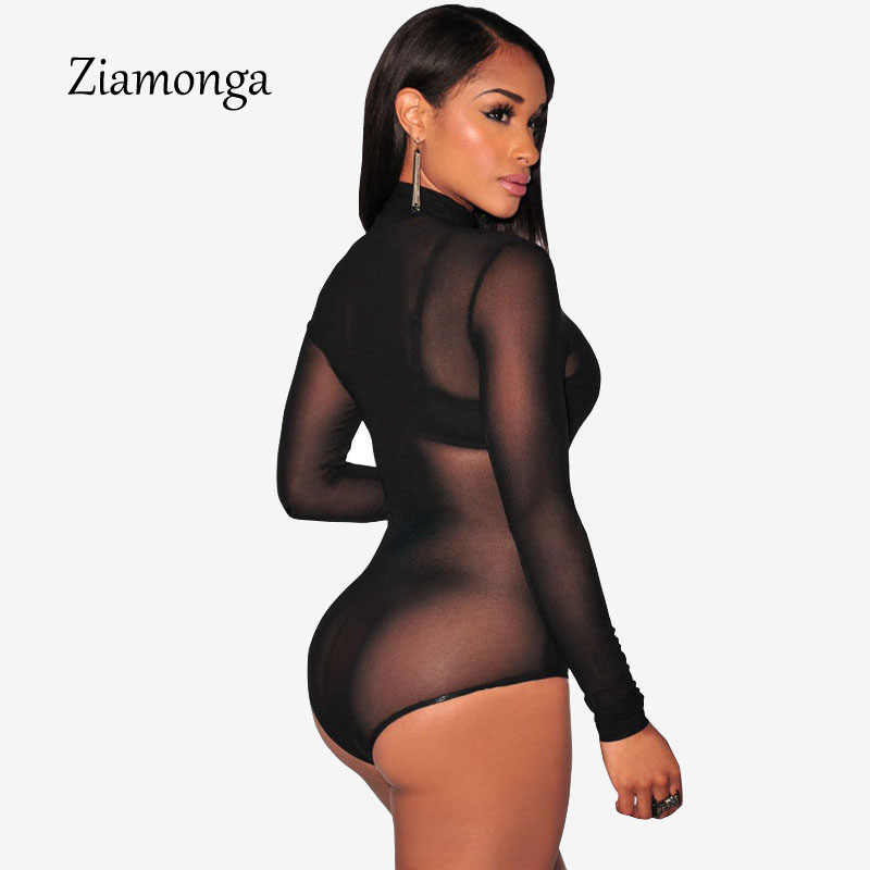 2017 новые модные женские облегающие мини-боди с длинными рукавами сексуальный комбинезон горячий комбинезон внутренняя одежда Комбинезоны женские s комбинезон C2345
