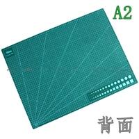 Livraison gratuite A2 9sea planche à découper plaque de gravure couteau plaque Vert double face outil De Coupe Tapis