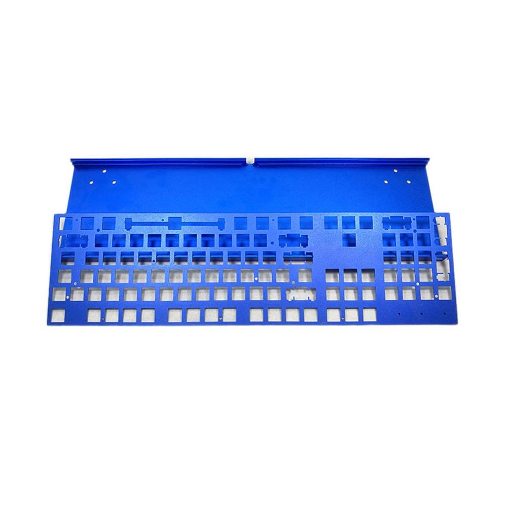 Custom anodized high end 6061 keyboard prototype making in ShenZhen-1
