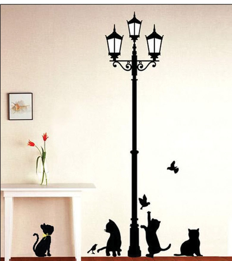 Corner Wall Art compare prices on fashion corner stickers- online shopping/buy low