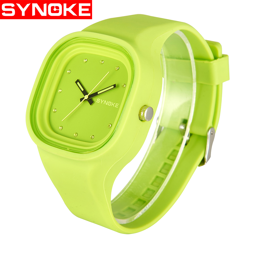 SYNOKE Fashion Jelly Silicone Students Girls Watches Luxury Brand Casual Boys Quartz Clock Wristwatches Children Clock For GiftSYNOKE Fashion Jelly Silicone Students Girls Watches Luxury Brand Casual Boys Quartz Clock Wristwatches Children Clock For Gift