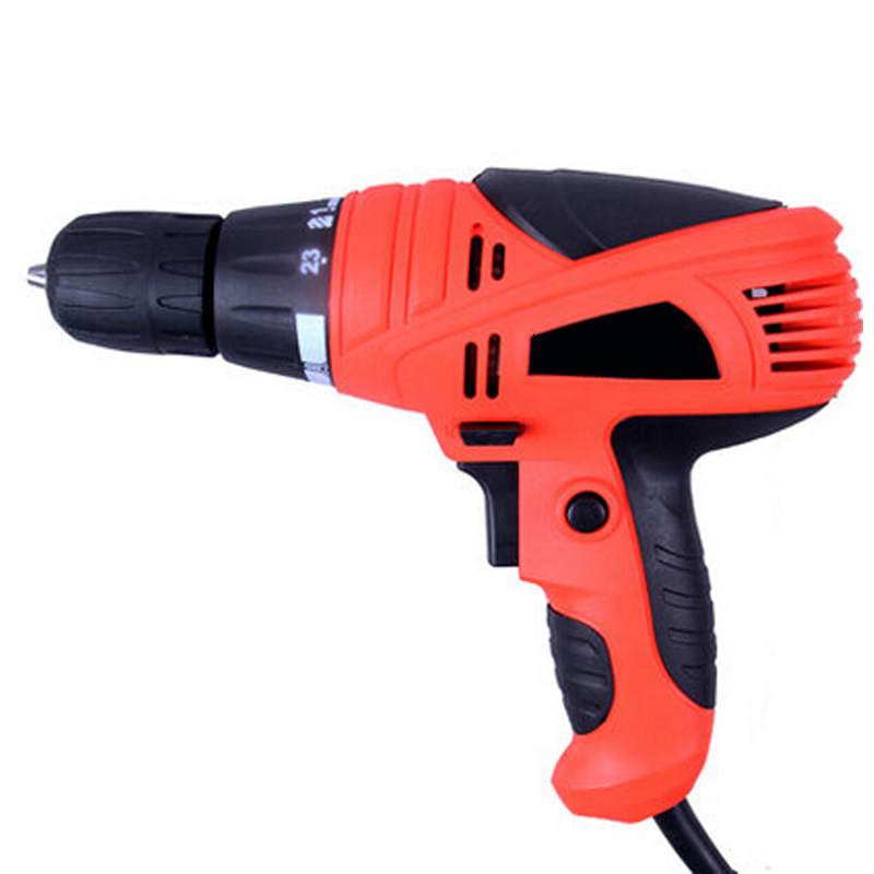 220V 1000W Multifunction Torque Electric Drill High Power Double Reduction Electric Hand Drill For Perforator