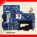 Va70/vg70 rev2.1 placa principal para acer v3-771 v3-771g motherboard notebook pc com 2 gb gráficos 4 slots de memória ddr3