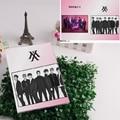 Kpop Monsta x fashion Shownu Shin Ho Seok Lee Min Hyuk I.M Kihyun Hyung Won workbooks waterproof Notebooks 20*15cm