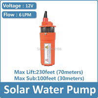 Dc Solar Water Pump 12v For Deep Well Diaphragm Submersible Water Pump Price