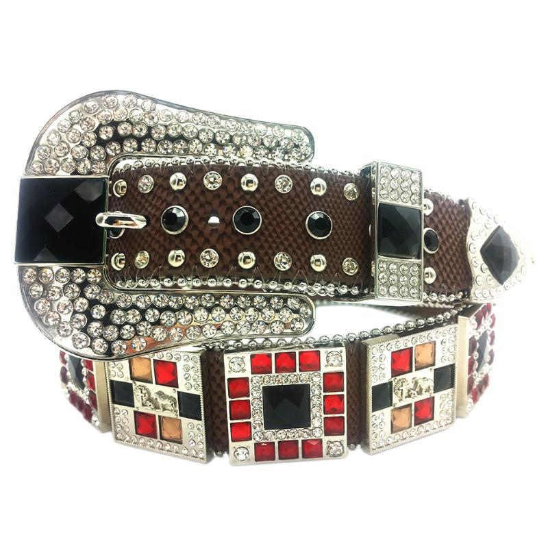 precio de fábrica 1491e 9567a cinturones vaqueros con piedras cinturones para hombre en ...