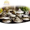 Костяного фарфора кофейная чашка Европейский стиль чайная чашка керамическая английская дневная чашка Кофейный Набор подарочных коробок