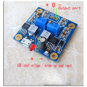 Image 2 - HIFI low noise low resistance single voltage to positive and negative power output DC12V Regulated power supply module