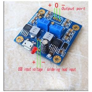Image 2 - Hifi 저잡음 저 저항 단일 전압 포지티브 및 네거티브 전원 출력 dc12v regulated 레이트 된 전원 공급 장치 모듈