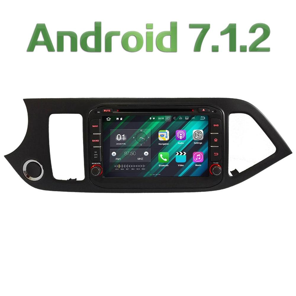 3G 4G WIFI 8 Android 7 1 2 2GB RAM DAB SWC Car DVD Player Radio