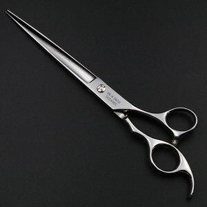 Image 5 - 8 Polegada pet tesoura profissional tesouras de corte cabelo cabeleireiro barbeiro tesoura humano & cães & gatos