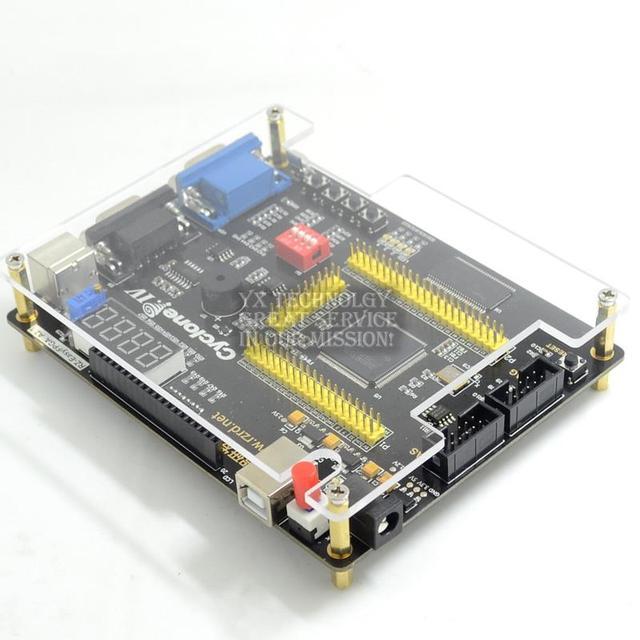 Placa de desenvolvimento FPGA ALTERA IV EP4CE quatro gerações NIOSII enviar enviar o controle remoto para enviar video downloader