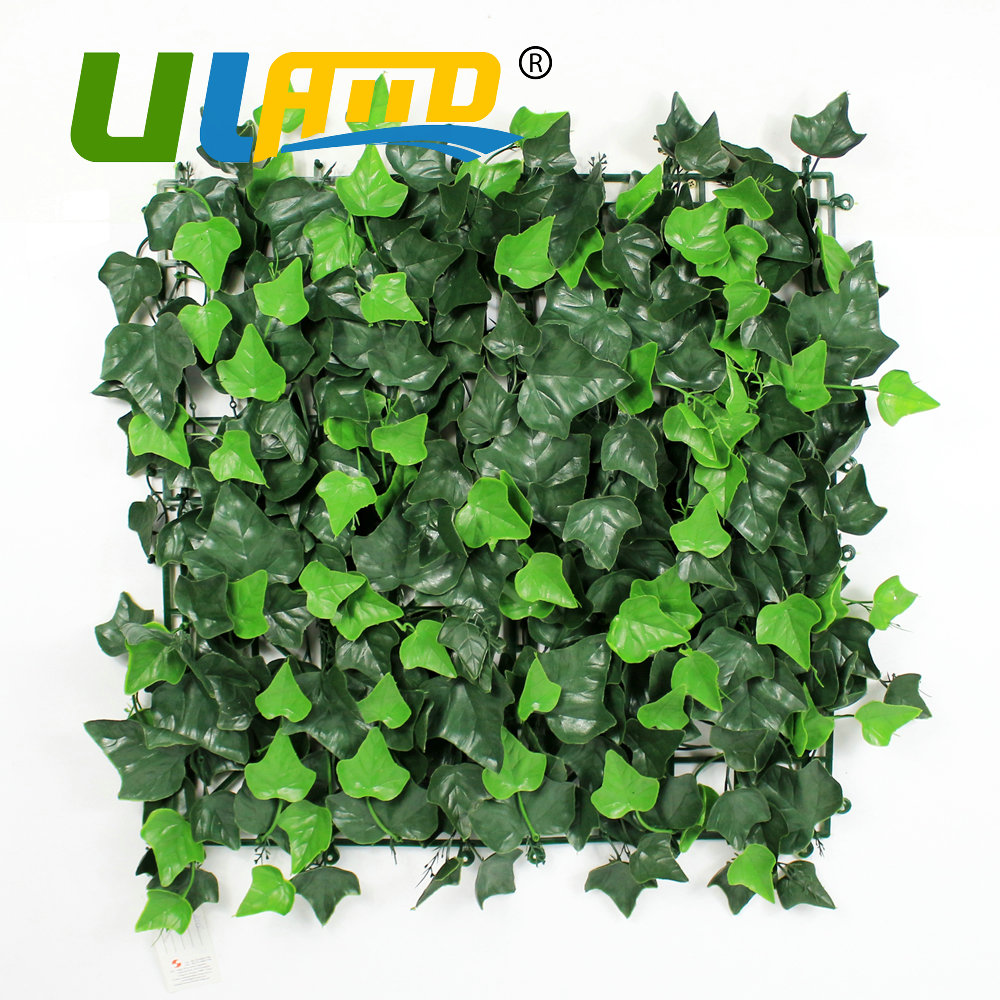 uland 25x25cmpc artificial boxwood foliage uv indoor plastic ivy fence panels balcony privacy screen