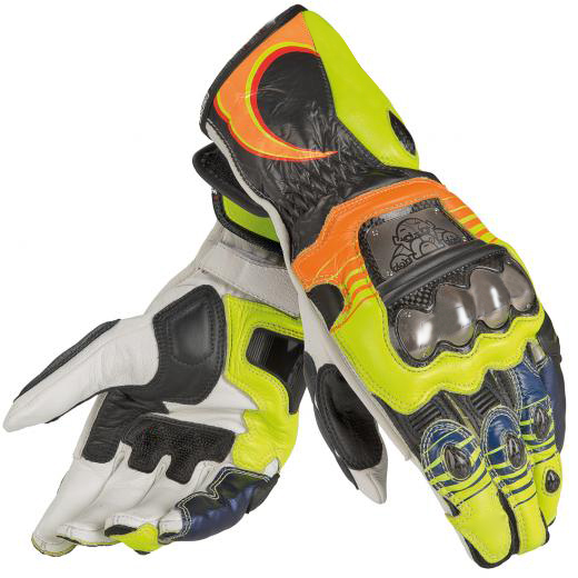 2015 Valentino Rossi Racing Gloves Motorbike Leather Gloves VR46 Gloves