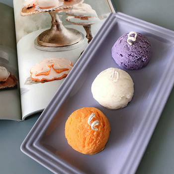Ice cream silicone mold DIY aromatherapy plaster candle diffused stone handmade silicone mold
