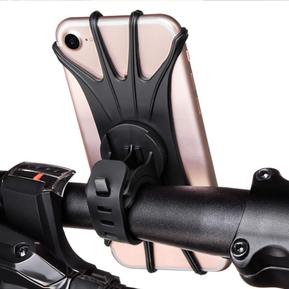 360 grad Rotation Stabile Stoßfest Telefon Halter Wasserdichte Motorrad Bike Fahrrad Lenker Halterung Halter Clip