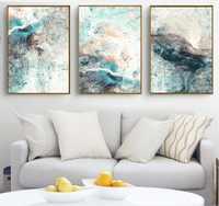 Moderne Einfachheit von Abstrakte Leinwand Gemälde Modulare Bilder Wand Kunst Leinwand für Wohnzimmer Dekoration Kein Gestaltet