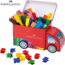 лучшая цена Faber Castell Fibre-tip Watercolor Pen 33 Colors Connector Truck Art Marker Ideal for Adult Kids Coloring Books,Manga,Comic,Gift