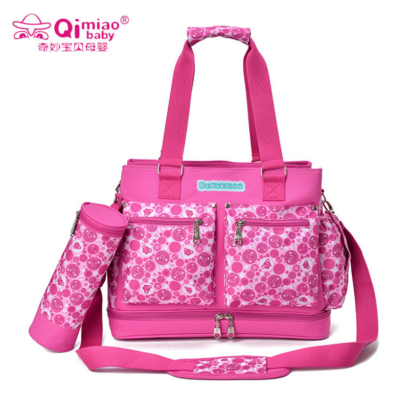 Qimiao Baby Diaper Bag Baby Stroller Organizer Waterproof Bag Baby Large Nappy Bags For Pram Maternity Bags Baby HandbagQimiao Baby Diaper Bag Baby Stroller Organizer Waterproof Bag Baby Large Nappy Bags For Pram Maternity Bags Baby Handbag