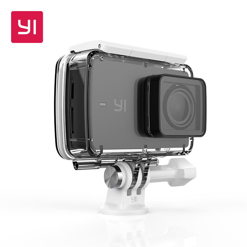 YI Discovery Action Camera 4K 20fps Sports Cam 8MP 16MP with 2.0 Touchscreen Built-in