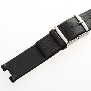 Image 5 - MAIKES New Hot Sales Genuine Calf Leather Watch Band Black Soft Strap Watchband Case For CK Calvin Klein K1S21102 K1S21120