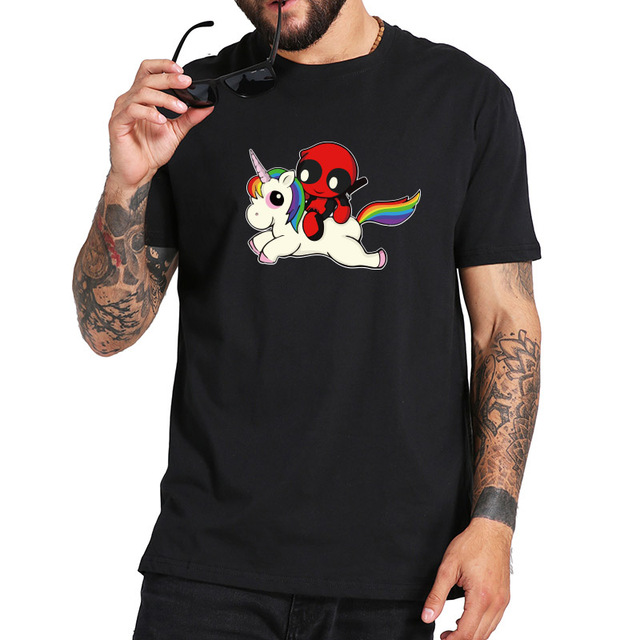 DEADPOOL UNICORN T-SHIRT (4 VARIAN)