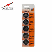 5x Wama CR2450 DL2450 CR2450N ECR2450 BR2450 BR2450-1W KCR2450 LM2450 Li-ion Lithium 3V Button Cell Coin Battery Car Remote