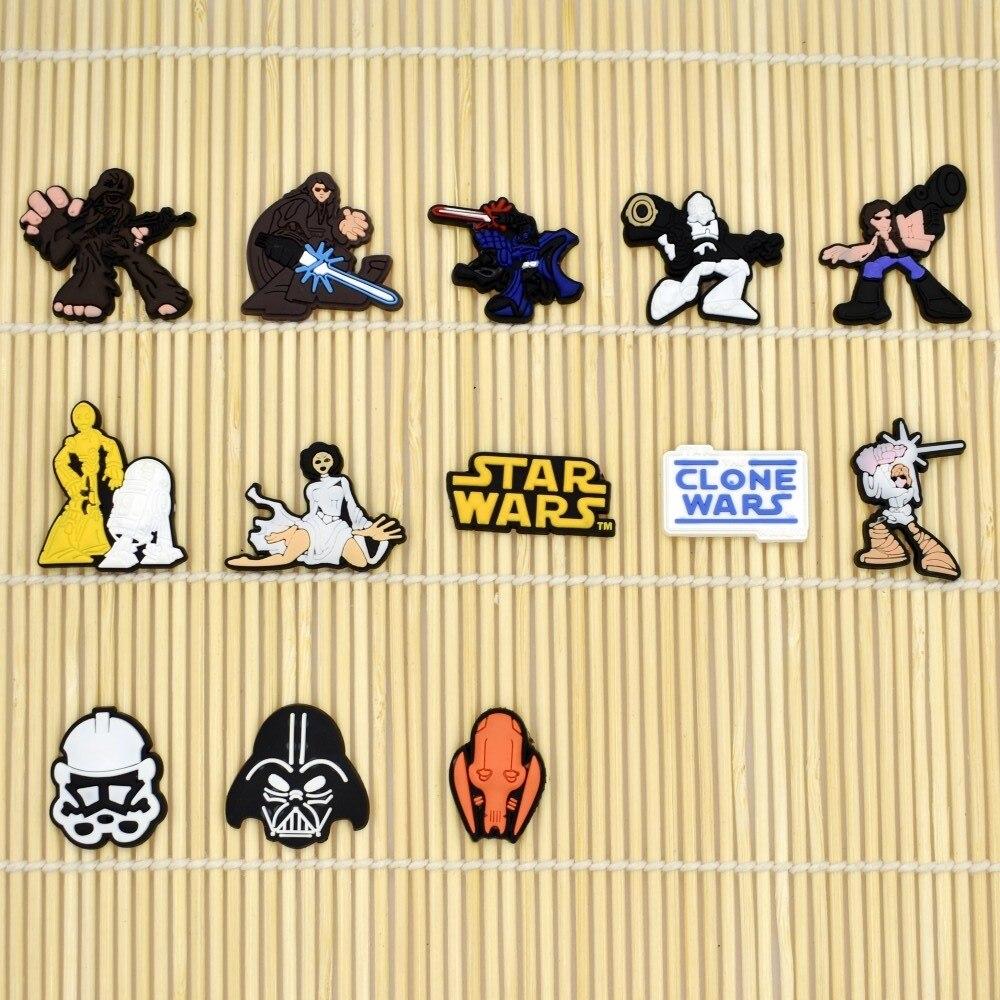 DIY Soft PVC Ornament Cartoon Star Wars Fit Phone Case