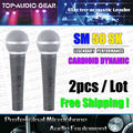 5-Year Warranty! 2PCS/LOT Free Shipping Quality Dynamic Vocal Wired Mic For SM 58 SM58 SM58SK Microphone Microfone fio Microfono