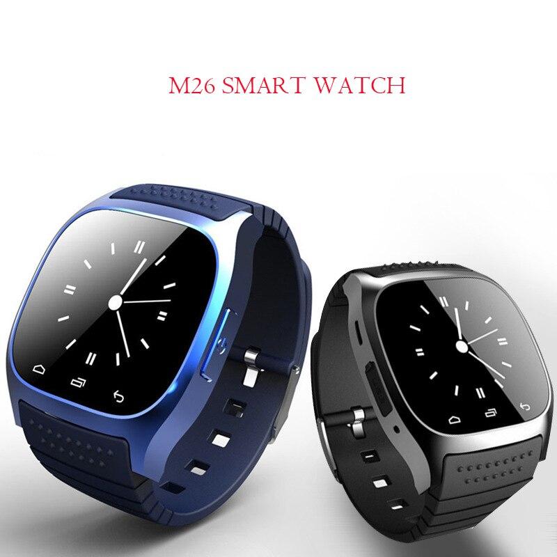 LiebenswüRdig Tonbux M26 Bluetooth Handgelenk Smart Uhr Mann Frau Smartwatch Anruf Musik Schrittzähler Fitness Tracker Für Android Smart Telefon Pk A1 Intelligente Elektronik