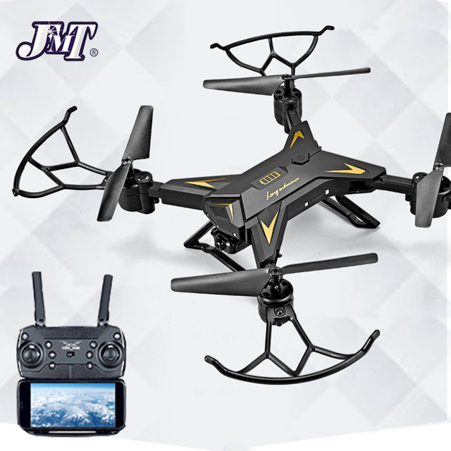JMT KY601S RC Helicopter Drone with Camera HD 1080P WIFI FPV Selfie Drone Professional Foldable Quadcopter