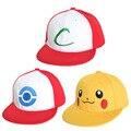 Novo Visor Cap POKEMON ASH KETCHUM TRAJE Cosplay Hat frete grátis