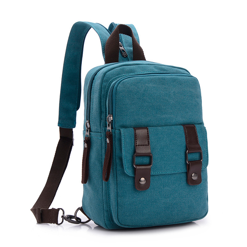 Fashion Women s Mini Backpack Canvas Bags For Teenager Girl Small Backpack  Travel Bag Ladies Schoolbags Multifunction Chest Pack 63ca877051
