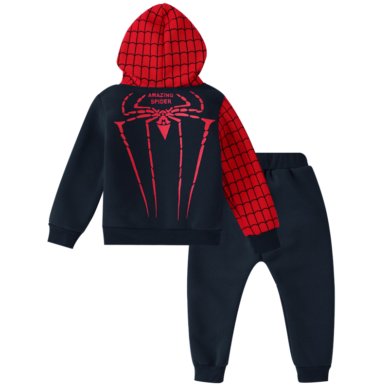 Children Clothing Autumn Winter Toddler Boys Clothes Sets Spiderman Costume Kids Clothes For Boys Clothing Suit 3 4 5 6 7 Year 15