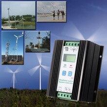 LCD Economic PWM Wind Solar System Controller(600w Wind + 400w Solar)12v/24v Automatic Identification Household Lighting