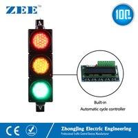 Низкая стоимость встроенный автоматический цикл светофора светодио дный контроллер светодиодный светофора упрощенный контроллер трафика