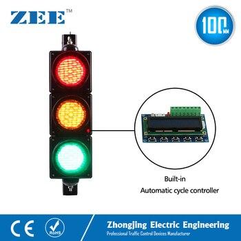 Düşük Maliyetli Dahili Otomatik Döngüsü Trafik Işığı Kontrolörü LED Trafik Işığı Basitleştirilmiş Trafik Kontrolörü LED Trafik Sinyalleri