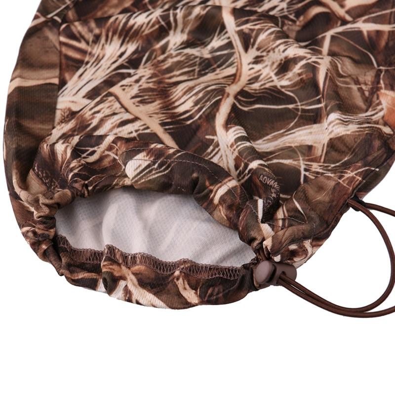 Extérieur jungle camouflage chasse vêtements bionic costume respirant protection solaire vêtements pêche vêtements chasse ghillie costume - 6