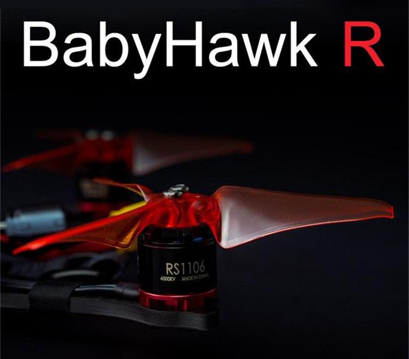 EMAX Babyhawk carrera (R) 136mm RS1106 3 pulgadas AVAN MINI F3 Magnum Mini 5,8G VTX/25/200 mw Sensor CCD FPV racing Drone 3 S/4S PNP BNF-in Partes y accesorios from Juguetes y pasatiempos    2