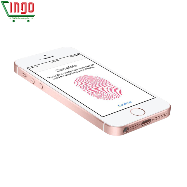 Apple iPhone SE Dual Core Cell Phones 12MP iOS Fingerprint Touch ID  2GB RAM 16/64GB ROM 4G LTE Refurbished iPhone se 4