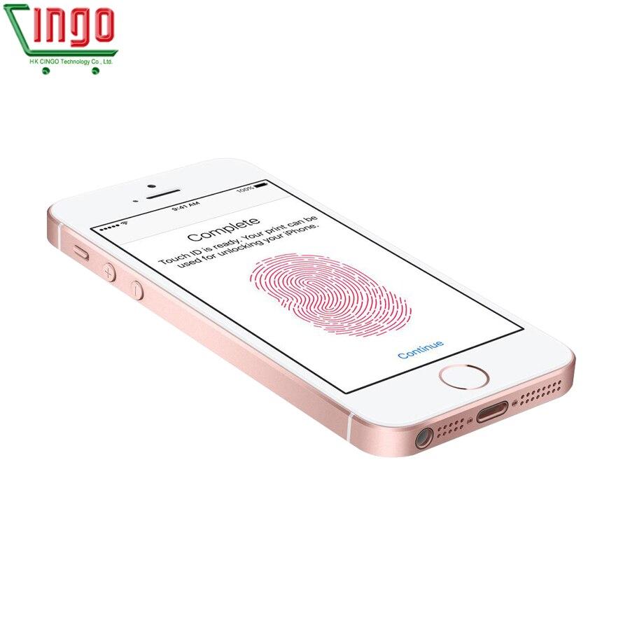 Apple iPhone SE double noyau téléphones portables 12MP iOS empreinte digitale tactile ID 2GB RAM 16/64GB ROM 4G LTE reconditionné iPhone se - 4