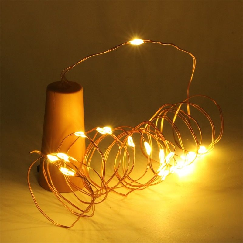 Led String Lights USB Battery Power Fairy Lights Silver Wire 1M 2M 3M 5M 10M Christmas Light Party Decoration Home Halloween