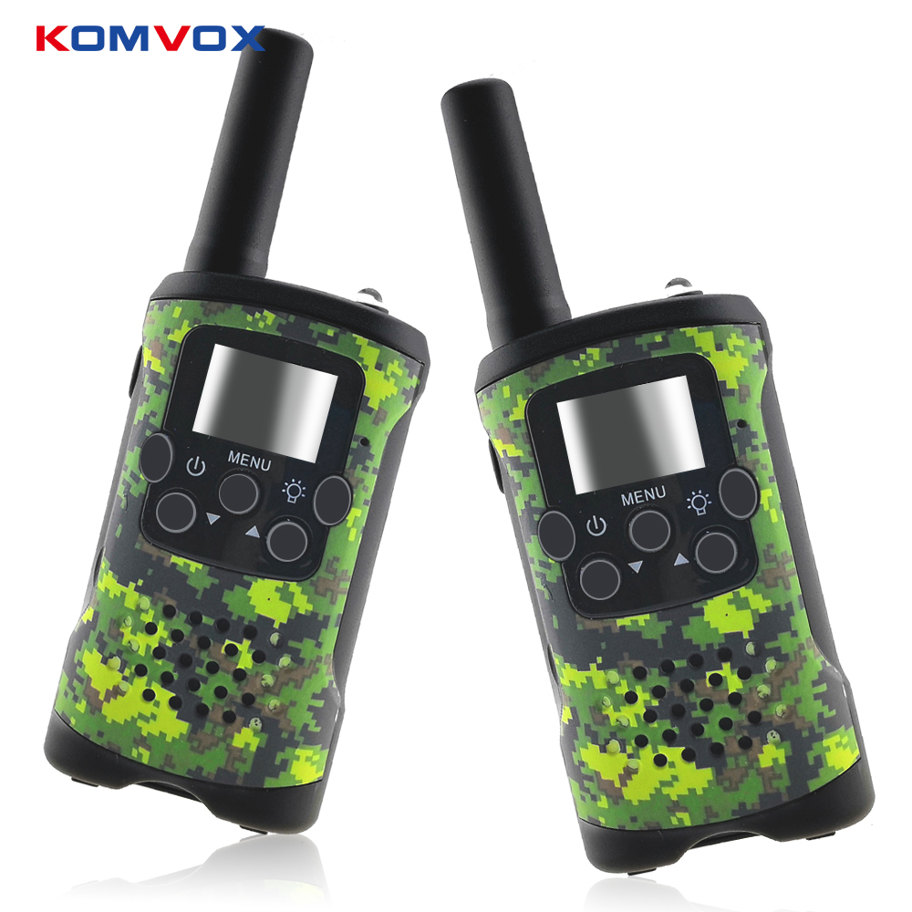 2 Way Kids Walkie Talkies Range up to 6km 8/20/22CH FRS/GMRS 400 470MHZ Mini Radio Toys Walkie Talkie Children Intercom Gifts-in Walkie Talkie from Cellphones & Telecommunications