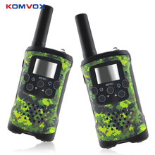 2 Way Kids Walkie Talkies Range up to 6km 8/20/22CH FRS/GMRS 400 470MHZ Mini Radio Toys Walkie Talkie Children Intercom Gifts