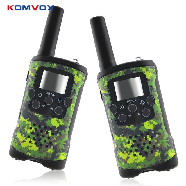 2 Way Kids Walkie Talkies Range up to 6km 8/20/22CH FRS/GMRS 400 470MHZ Mini Radio Toys Walkie Talkie Children Intercom Gifts