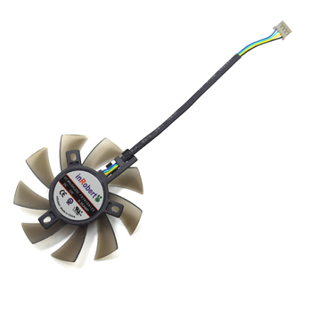 New 75MM FD7010H12S 4Pin Cooler Fan Replace For ASUS Sapphire MSI R6790 Twin Frozr II HD 7870 Graphics Card Cooling Fan DIY