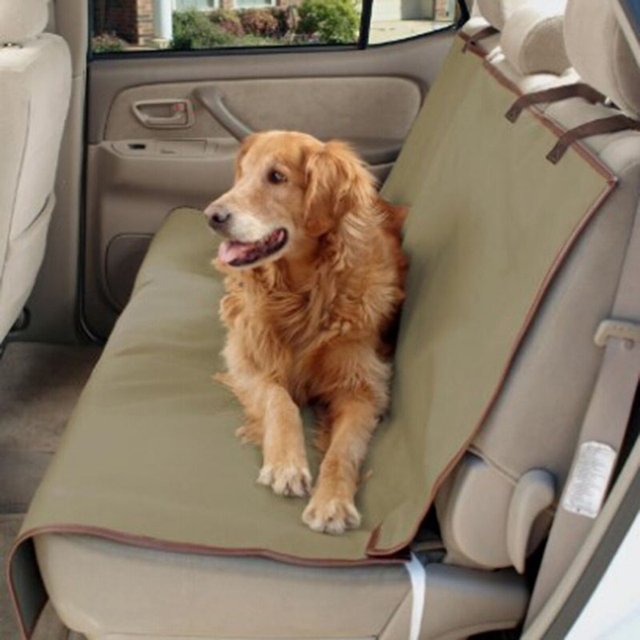 62313 Waterproof Dog Car Seat Cover Back Seat Bench Mat