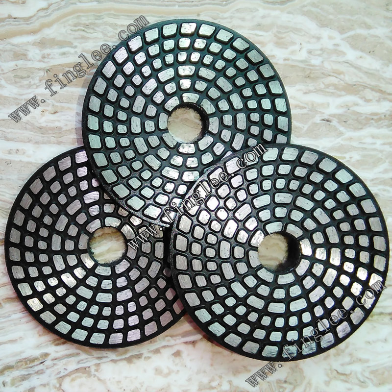 FINGLEE metal Grinding disc metal polishing kit for Stone concrete polish set Granite Marble Ceramic Floor polishing pads 1pc white or green polishing paste wax polishing compounds for high lustre finishing on steels hard metals durale quality