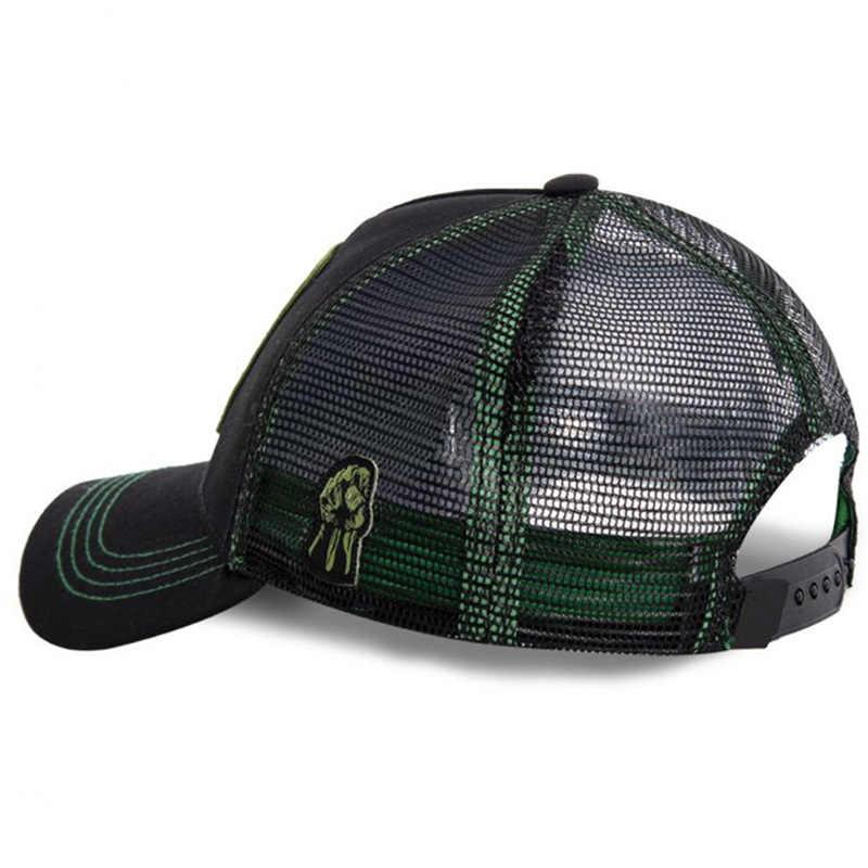 جديد الأعجوبة الهيكل قبعة عالية الجودة Snapback قبعة قيعة بيسبول صغيرة للرجال النساء الورك هوب أبي قبعة سائق الشاحنة قبعة من القماش الشبكي دروبشيبينغ
